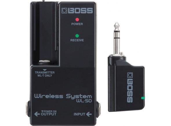 Sistemas inalámbricos para guitarra y bajo. BOSS WL-50 Sistema Sem fios para Pedalboards