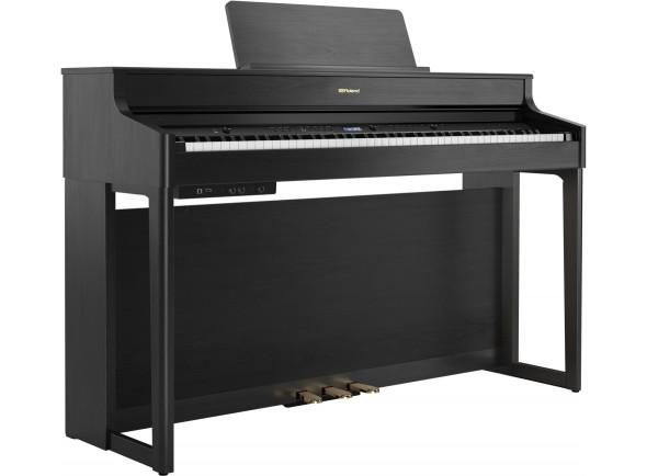 Pianos digitales para muebles Roland HP702 CH Charcoal Black Piano Premium