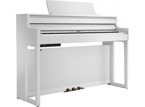 Pianos digitales para muebles Roland HP704 WH Satin White