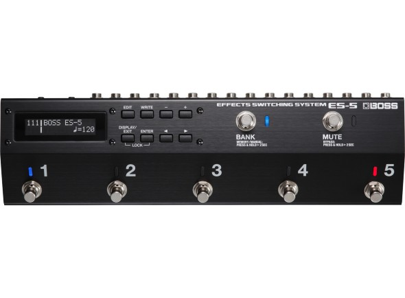 Interruptores BOSS ES-5 Seletor Multi-Efeitos