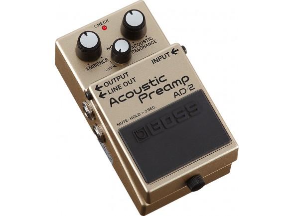 Efectos de guitarra acústica BOSS AD-2 Acoustic Preamp