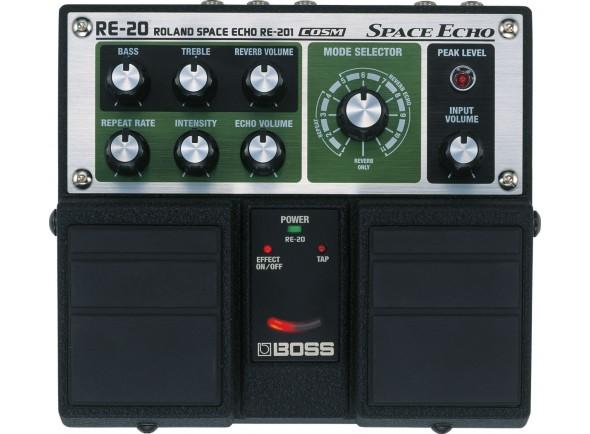 Retrasos / Ecos BOSS RE-20 Pedal Space Echo