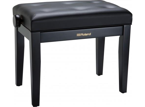 Taburetes de piano Roland RPB-300BK Banco Piano Preto