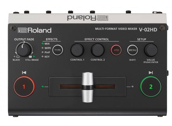 Vídeo Roland V-02HD Mesa de Video Multi-Formato HD