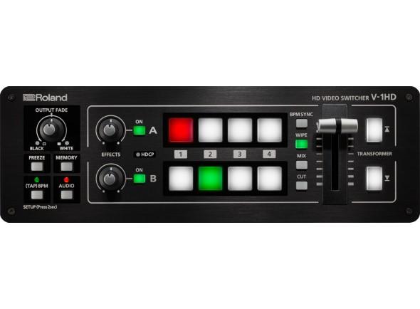 Tabla de edición de video Roland V-1HD Mesa de Video 1080p Full HD