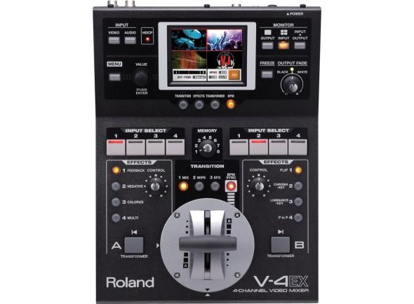 Tabla de edición de video Roland V-4EX Mesa de Video com 4 Canais