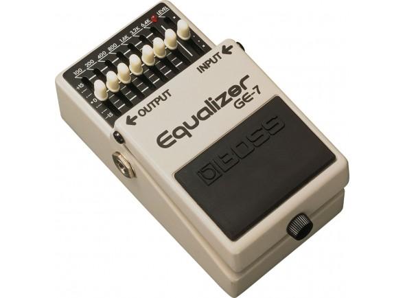 Ecualizadores BOSS GE-7 Equalizador Gráfico