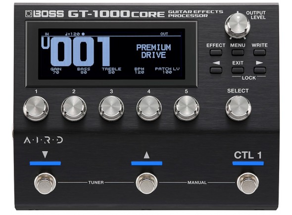Pedales de guitarra electrica BOSS GT-1000CORE Pedaleira Multi-Efeitos