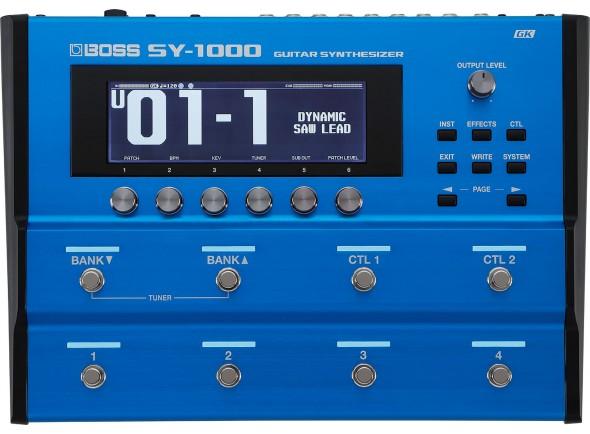 Sintetizadores para Guitarras y Bajos BOSS SY-1000 Sintetizador para Guitarra e Baixo