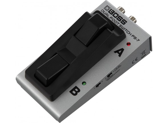 Interruptores BOSS FS-7 Pedal Footswitch Duplo