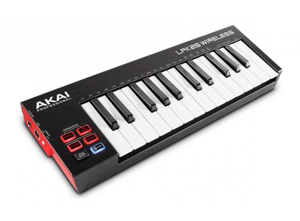 Controladores de teclados MIDI Akai LPK 25 wireless