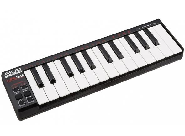 Controladores de teclados MIDI Akai LPK 25