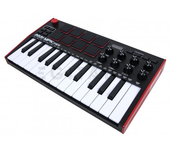 Controladores de teclados MIDI Akai MPK Mini Mk3