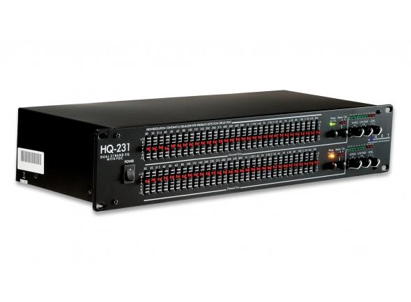 Ecualizadores gráficos ART HQ231 Pro Dual 31 Band EQ