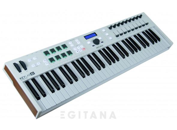Controladores de teclados MIDI Arturia KeyLab Essential 61