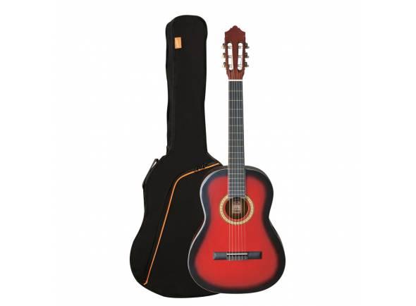 Guitarra clasica Ashton SPCG44 TRB (Transparent Red Burst)