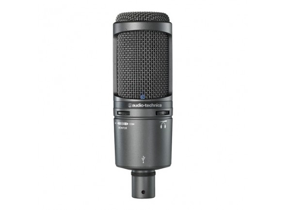 Micrófono de diafragma grande Audio Technica AT2020 USB+
