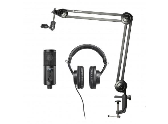 Juegos de micrófonos Audio Technica  Pack Creator Estudio