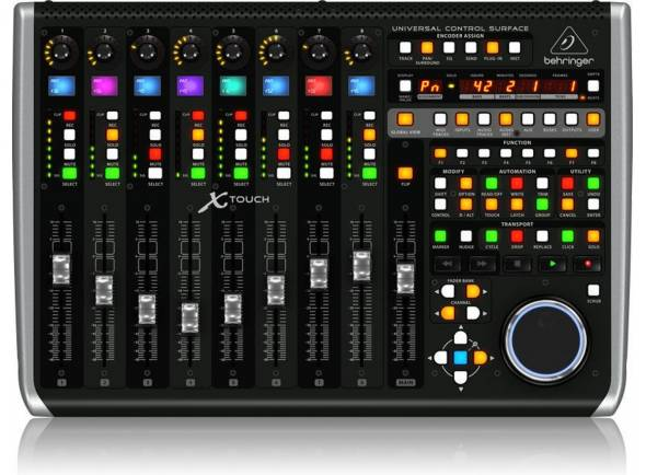 Interfaz de audio USB Behringer Interface AUD X-TOUCH