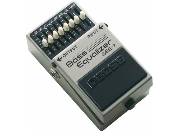 Pedales BOSS GEB-7 BASS Equalizer