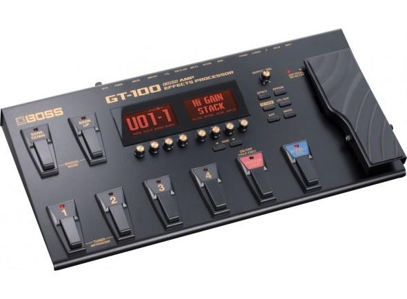 Pedales de guitarra electrica BOSS GT-100 Pedaleira Multi-Efeitos