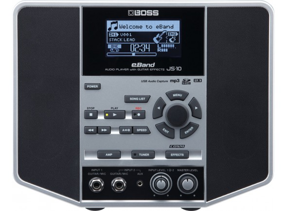 Combos de batería BOSS JS-10 Audio Player Guitar Effects