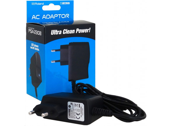 Cables de alimentación / transformadores BOSS PSA-230S Transformador 9V DC 500mA