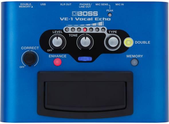 Procesadores para vocalistas BOSS VE-1 Processador de Voz Echo