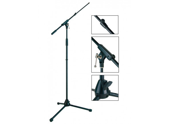 Soporte de micrófono Boston  MS-1425-BK