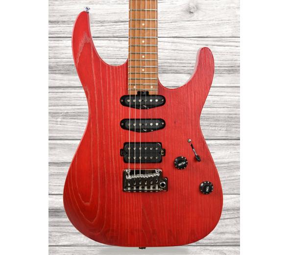 Guitarras de formato ST Charvel Pro-Mod DK24 HSS 2PT CM Ash Red Ash