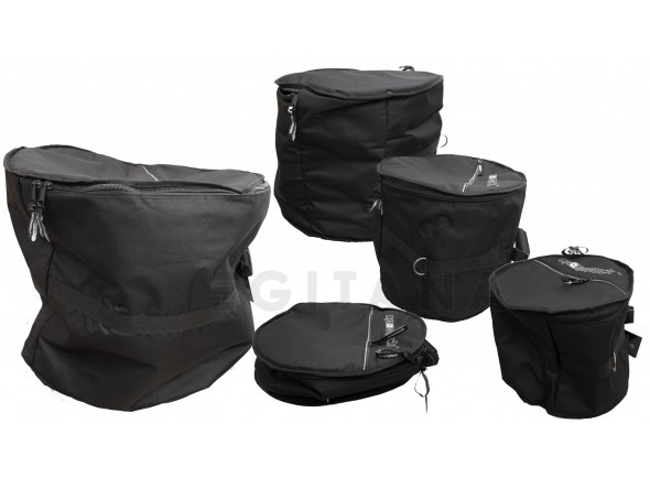 Bolsas de tambor acústico Crossrock SACO SET BATERIA
