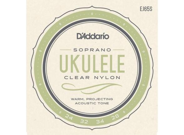 Conjuntos de cuerdas de ukelele D´Addario EJ65S