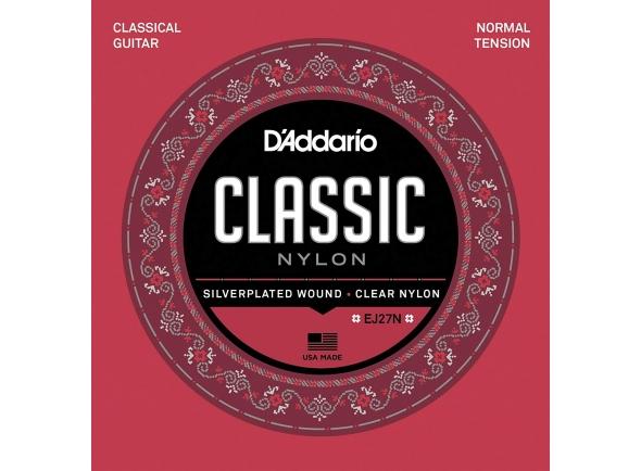 Juegos de cuerdas para guitarra clásica D´Addario Jogo de Cordas Nylon Guitarra Clássica EJ27N