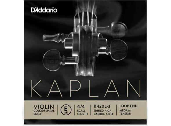 Cuerdas D´Addario Kaplan Golden Spiral Solo E Loop