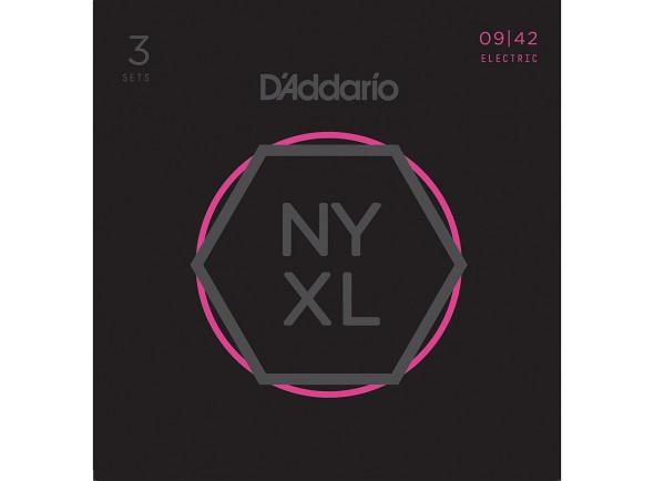 Juego de cuerdas .009 D´Addario  NYXL0942-3P