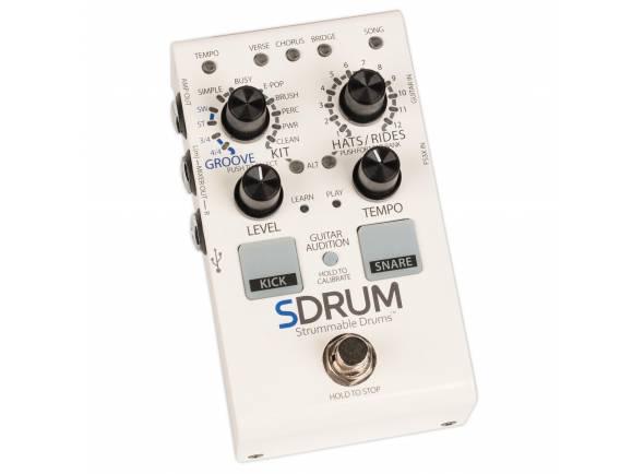 Stompboxes Digitech SDRUM Strummable Drums