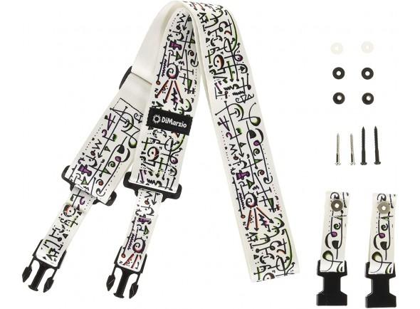 Otros cinturones DiMarzio Steve Vai-Art Strap DD2242