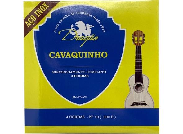 Conjuntos de cordas para cavaquinho Dragão Aço Inox Cavaquinho 4 cordas Nº10 (.009P)