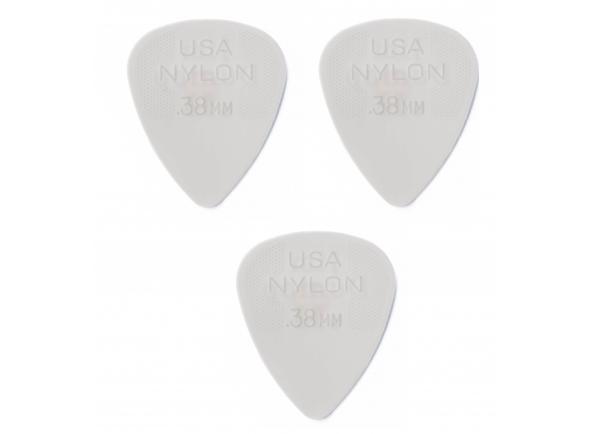 Púas de guitarra Dunlop Nylon Standard 44R 0.38
