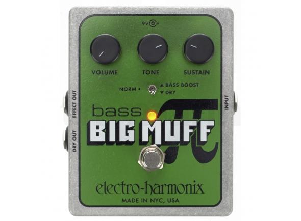 Pedales Electro Harmonix Bass Big Muff Pi