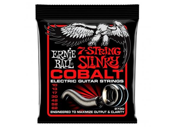 Jogos para guitarra de 7 cordas Ernie Ball 2730