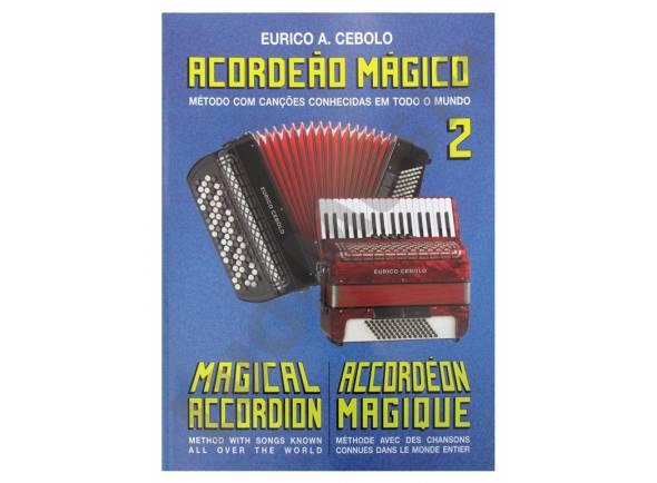 Libros de acordeón Eurico A. Cebolo Acordeão Mágico 2