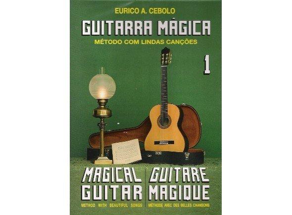 Libros de guitarra Eurico A. Cebolo Guitarra Mágica 1