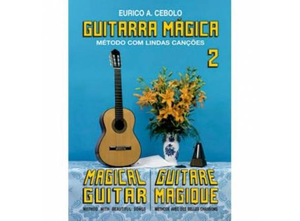 Libros de guitarra Eurico A. Cebolo Guitarra Mágica 2
