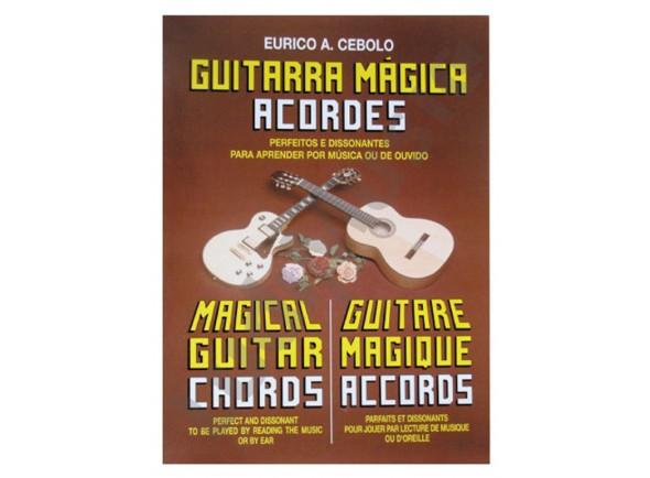 Libros de guitarra Eurico A. Cebolo Guitarra Mágica Acordes
