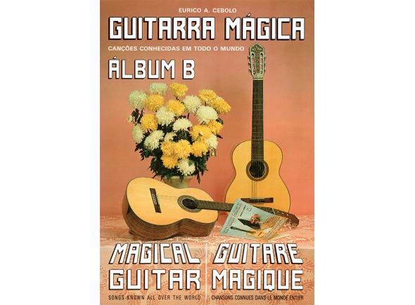 Cancionero Eurico A. Cebolo Guitarra Magica Album B