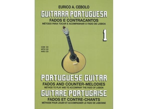 Libros de guitarra Eurico A. Cebolo Guitarra Portuguesa 1