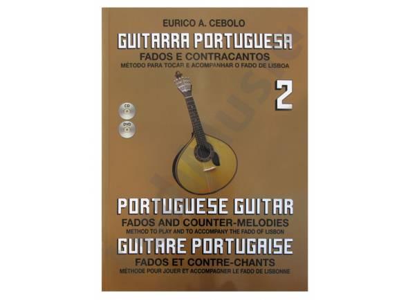 Libros de guitarra Eurico A. Cebolo Guitarra Portuguesa 2