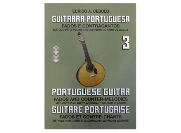 Libros de guitarra Eurico A. Cebolo Guitarra Portuguesa 3
