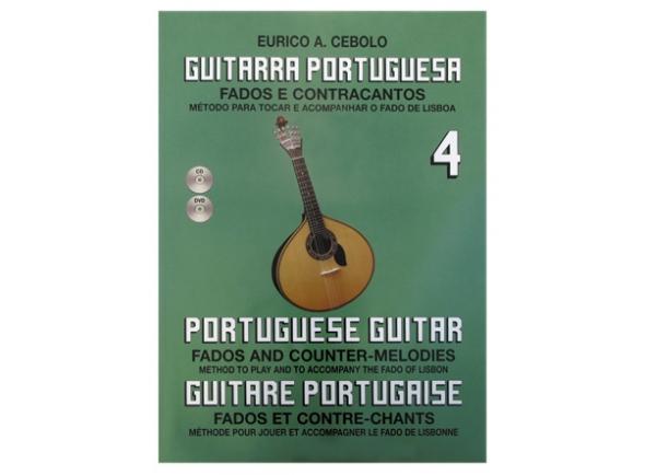 Libros de guitarra Eurico A. Cebolo Guitarra Portuguesa 4